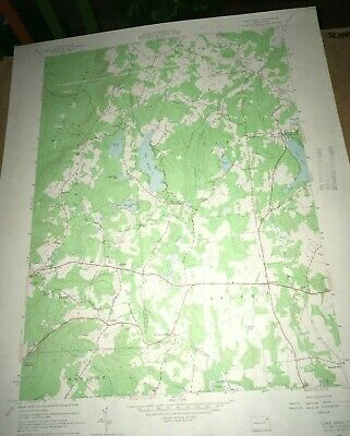 Lake Ariel PA Wayne County Old USGS Topographical Geological Quadrangle Topo Map