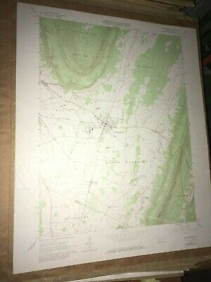 Martinsburg PA Blair Co. Old USGS Topographical Geological Survey Quadrangle Map