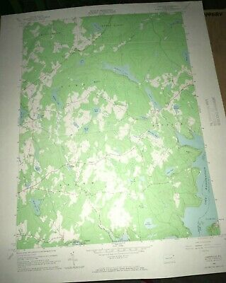Lakeville PA Wayne County Old USGS Topographical Geological Quadrangle Topo Map