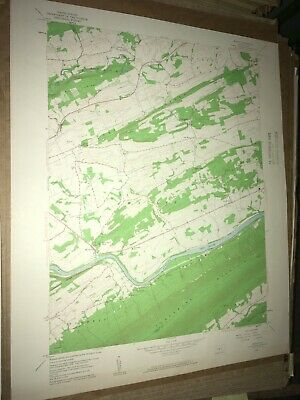 Mexico PA Juniata Co Old USGS Topographical Geological Survey Quadrangle Map
