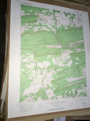 Nuremburg PA Schuylkill USGS Topographical Geological Quadrangle Topo Map