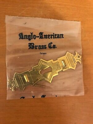 Antique Style Door Key Hole Escutcheon Brass Eastlake