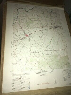 Palmyra PA Lebanon County USGS Topographical Geological Quadrangle Topo Map