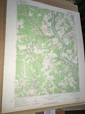 Parker PA Armstrong County USGS Topographical Geological Quadrangle Topo Map