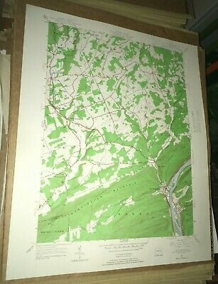 Shickshinny PA Luzerne Cty USGS Topographical Geological Survey Quadrangle Map