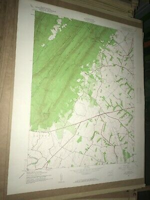St. Thomas PA Franklin Co. USGS Old Topographical Geological Quadrangle Topo Map