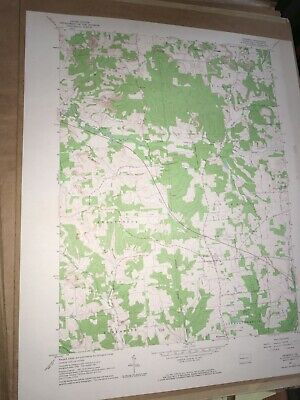 Prospect Pa. Butler Co USGS Topographical Geological Survey Quadrangle Map