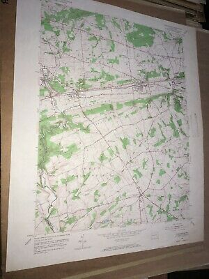 Parkesburg PA Chester County USGS Topographical Geological Quadrangle Topo Map