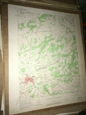 Red Lion Pa. York Co Old USGS Topographical Geological Survey Quadrangle Map