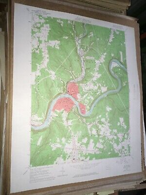Oil City Pa. Venango Co USGS Topographical Geological Survey Quadrangle Map