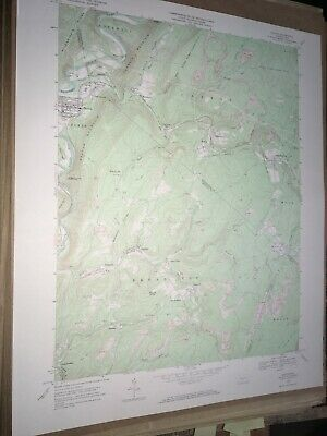 Saxton Pa. Bedford Co USGS Topographical Geological Survey Quadrangle Old Map