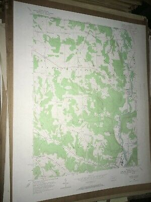 Russell City PA Elk Co. Old USGS Topographical Geological Quadrangle Topo Map