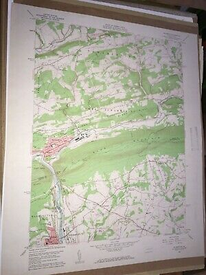 Palmerton PA Carbon County USGS Topographical Geological Quadrangle Survey Map