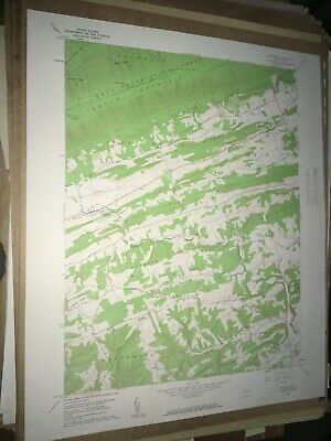 Richfield Pa. Juniata Co USGS Topographical Geological Survey Quadrangle old Map