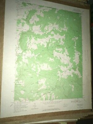 Scandia PA Warren County USGS Topographical Geological Survey Quadrangle Map