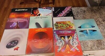 Robin Trower: Lot of 10 Vinyl LPs records blues rock n roll classic rock music
