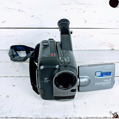 Sony Video 8 Hi8 Handycam Camcorder CCD-TRV40 NTSC with Strap