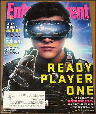 3/30/2018 Entertainment Weekly Ready Player One Jason Aldean A Quiet Place