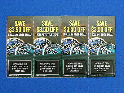 SKOAL; ($3.50 OFF/1-Roll) Coupons Exp; 05-02- 2020
