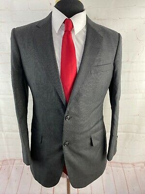 Roger Concept Men's Gray Textured Blazer 38S $225