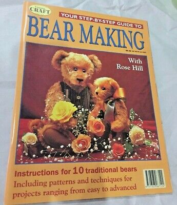 Your Step by Step Guide to Bear Making with Rose Hill