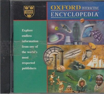 Oxford Interactive Encyclopedia Cd [Cr-07]
