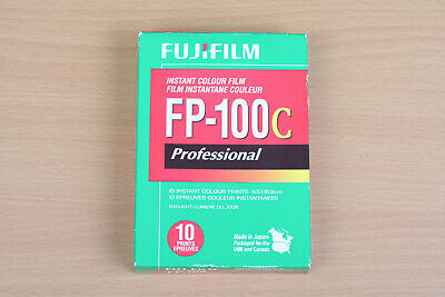 Fuji Fujifilm FP100C Instant Film Pack New In Box NOS Cold Stored 2017 - 05