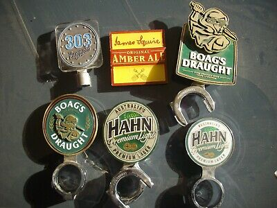 6 different  Beer Badge Tap Top Decal