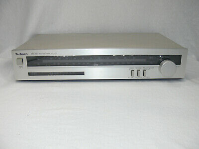 Vintage TECHNICS Stereo AM/FM TUNER Model: ST-Z11 Made in JAPAN 1982 Working GC