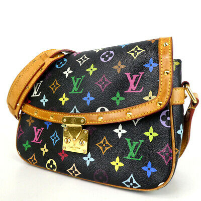 Authentic LOUIS VUITTON M92639 Monogram multi-colored sologne Shoulder Bag P...