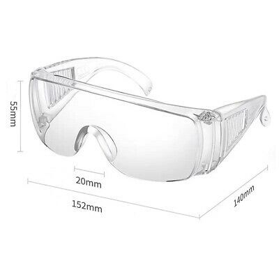 Safety Lab Goggles Eye Protection Anti Fog Clear Vent Glasses Lab Work Wear
