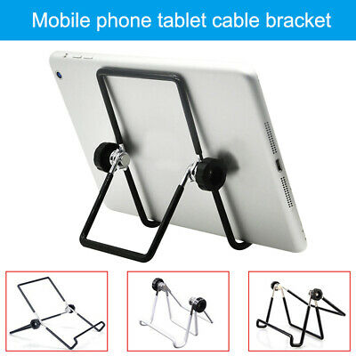 Portable Universal Tablet Desk Stand Fully Adjustable Angle Lightweight Non Slip