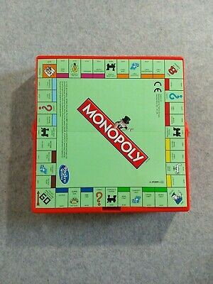 Travel Monopoly Board Game  Without Box. Grab And Go.