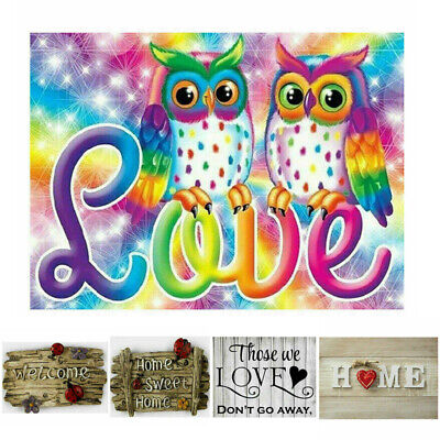 UK Full Drill Family Love Letter 5D Diamond Painting Embroidery DIY Cross Stitch