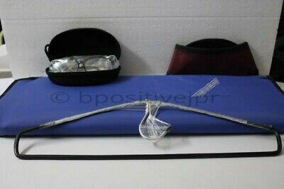 Set of X-Ray Protective New LEAD APRON THYROID COLLAR Lead Goggles 0.5mmpb