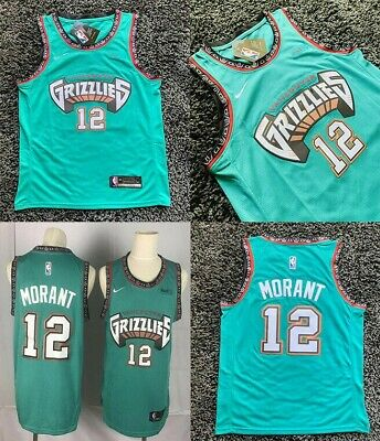 Men's Ja Morant #12 Memphis Grizzlies Green Jersey Basketball Limited Edition