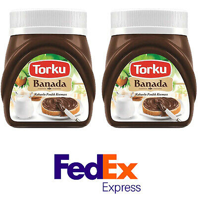 Torku Banada, Hazelnut Chocolate Spread, 700gr / 24.6oz / Pack of 2, Nutella