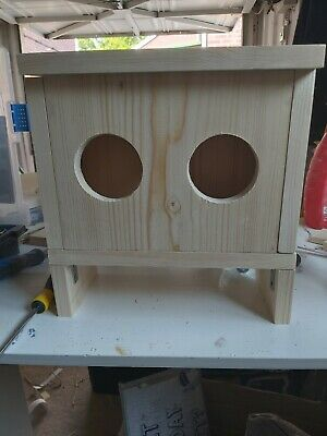 Wooden Hay Box, Hay Feeder With Or Without Lid