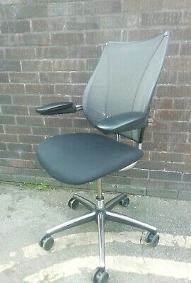 Humanscale Liberty Ergonomic Task Chair with Aluminium Frame.Very Good Condition