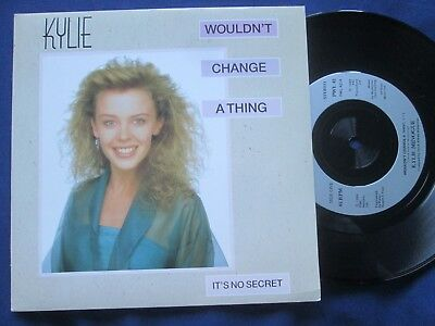 Kylie Minogue – Wouldn't Change A Thing PWL Empire – PWL 42 Vinyl 7inch Single