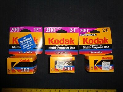 NEW Kodak Film Gold 200 - Set Of 2 & 1 Kodak Gold Super 200 - TOTAL OF 60 EXP.