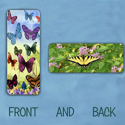Laminated Bookmark Butterfly  Assorted