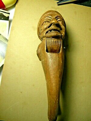 Early Figural Wood Nutcracker - The Pirate