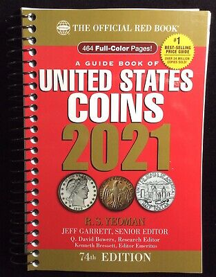 NEW Official Red Book Guide Of United States Coins 2021 Edition by R.S. Yeoman