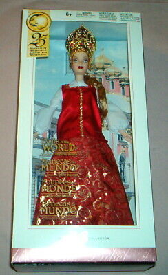 2005 Barbie - Dolls Of The World - Princess Of Imperial Russia - Nrfp - G5861