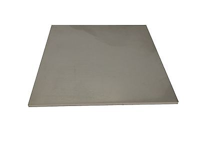 "1/4"" Stainless Steel Plate, 1/4"" x 16"" x 18"", 304SS, Rounded Corners"