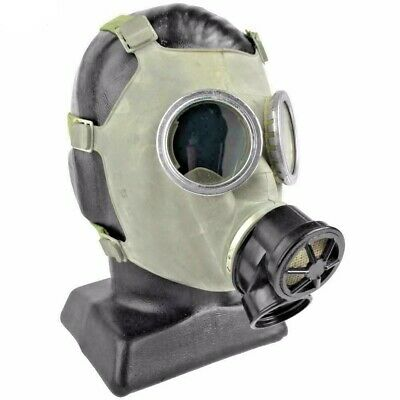 Authentic Polish MC-1 Military Gas Mask 40mm New/Old stock Respirator size Small