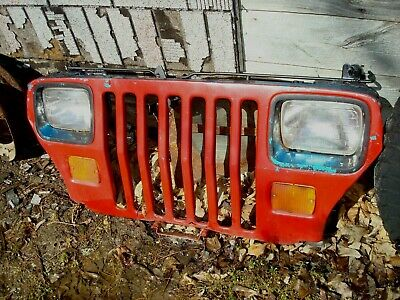 Vintage Jeep Wrangler Yj Grille Wall Art Steampunk Grill