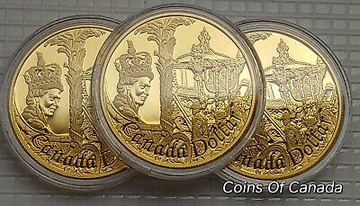 2002 Canada Silver Dollar - Special Ed GOLD Plated Multiple Avail #coinsofcanada