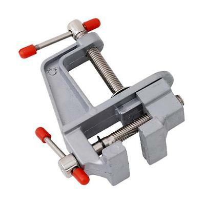 3.5 Aluminum Small Jewelers Hobby Clamp On Table Bench Vise Mini Tool UK  J7